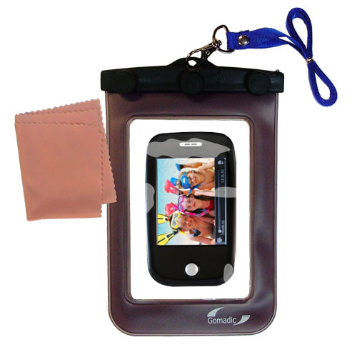 Waterproof Case compatible with the Ematic E6 Series to use underwater