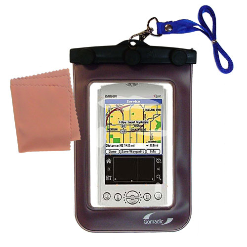 Waterproof Case compatible with the Garmin iQue 3200 to use underwater