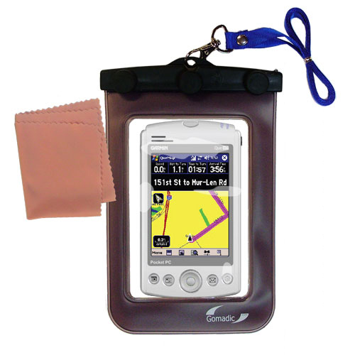 Waterproof Case compatible with the Garmin iQue M5 to use underwater