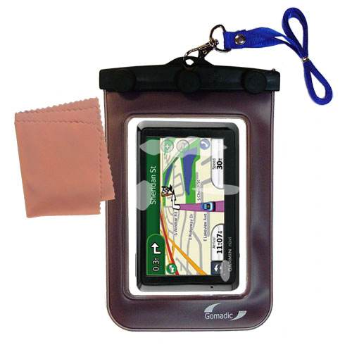 Waterproof Case compatible with the Garmin Nuvi 1310 to use underwater