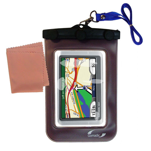Waterproof Case compatible with the Garmin Nuvi 215W 215T to use underwater