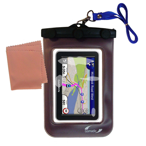 Waterproof Case compatible with the Garmin Nuvi 2300 2310 to use underwater