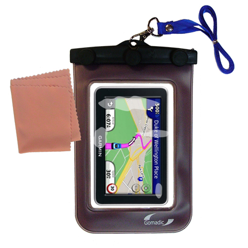 Waterproof Case compatible with the Garmin Nuvi 2310 to use underwater