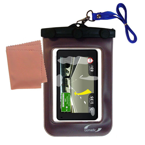 Waterproof Case compatible with the Garmin Nuvi 3790T 3790LMT to use underwater