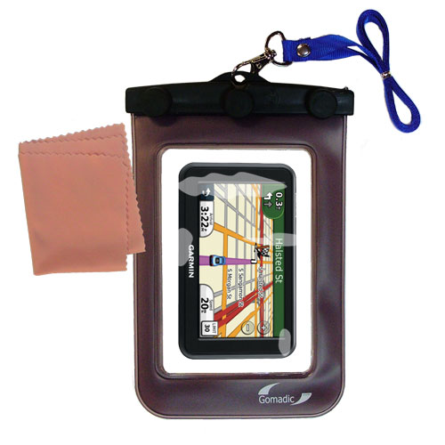 Waterproof Case compatible with the Garmin Nuvi 40 40LM to use underwater