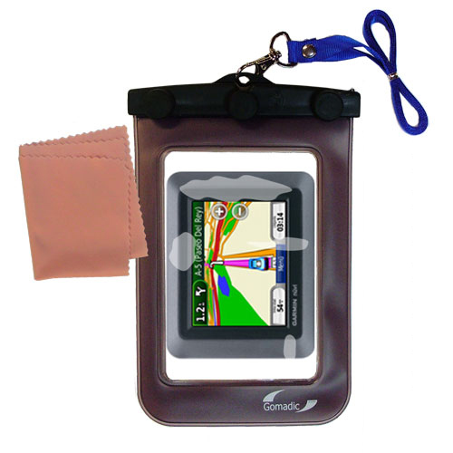 Waterproof Case compatible with the Garmin nuvi 510 to use underwater