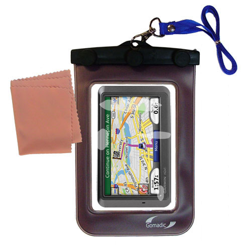 Waterproof Case compatible with the Garmin Nuvi 770 to use underwater