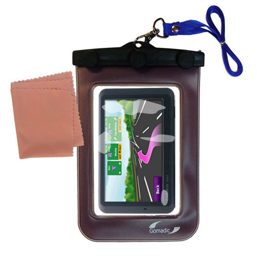 Waterproof Case compatible with the Garmin Nuvi 785T to use underwater
