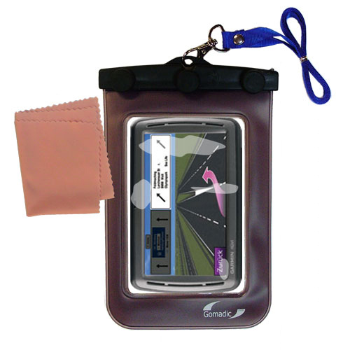 Waterproof Case compatible with the Garmin Nuvi 860 865Tpro to use underwater