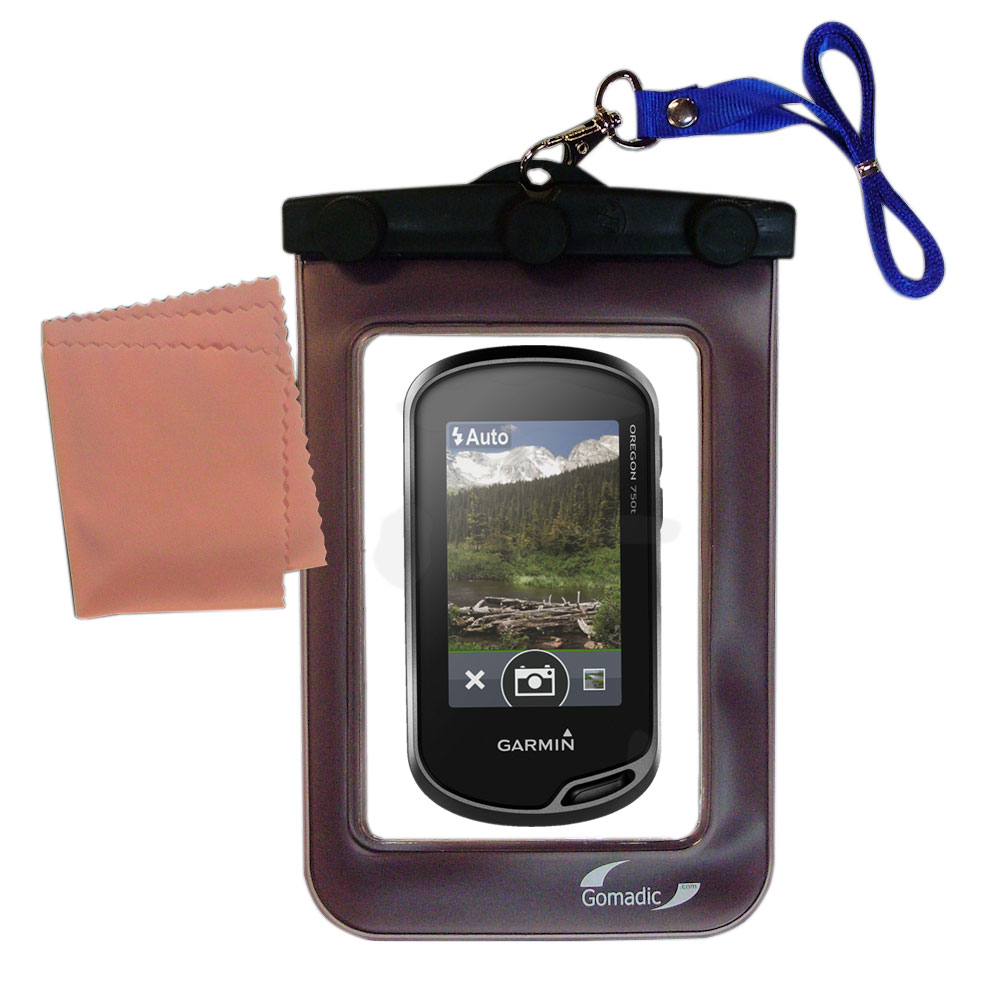 Waterproof Case compatible with the Garmin Oregon 700 to use underwater