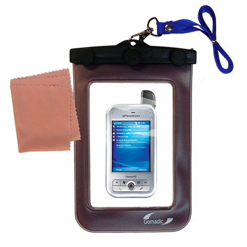 Waterproof Case compatible with the HTC 6700Q Qwest to use underwater