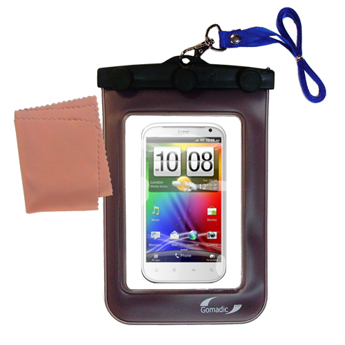 Waterproof Case compatible with the HTC Bliss to use underwater