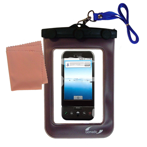 Waterproof Case compatible with the HTC Dream to use underwater