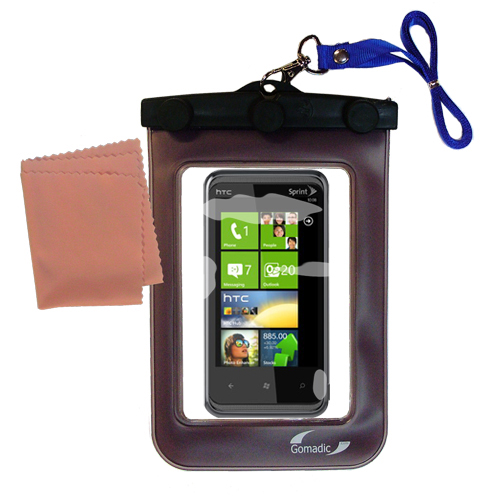 Waterproof Case compatible with the HTC Eternity to use underwater
