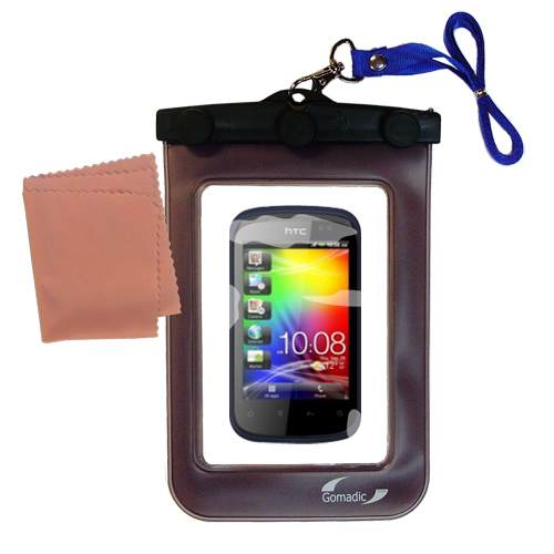 Waterproof Case compatible with the HTC Explorer to use underwater