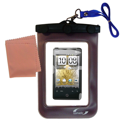 Waterproof Case compatible with the HTC Gratia to use underwater