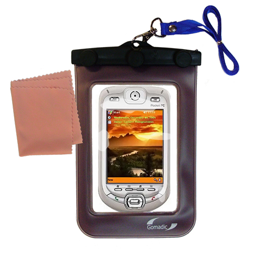 Waterproof Case compatible with the HTC Harrier Smartphone to use underwater