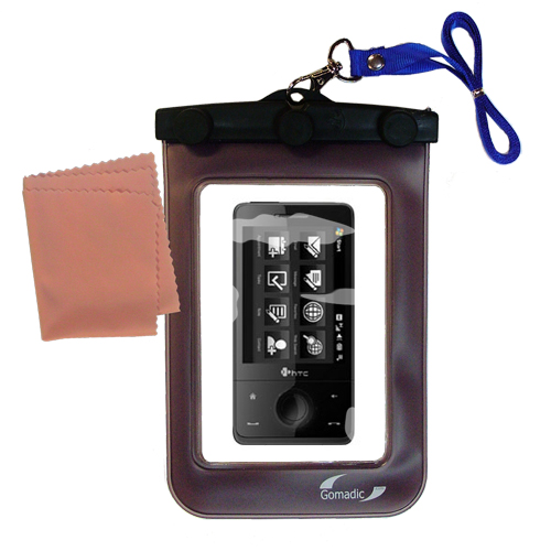 Waterproof Case compatible with the HTC Herman to use underwater
