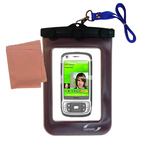 Waterproof Case compatible with the HTC Kaiser to use underwater