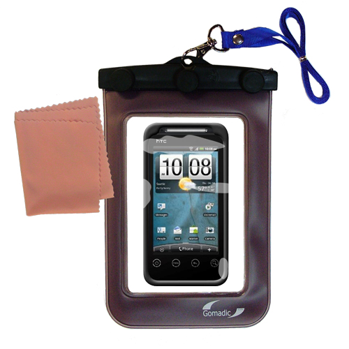 Waterproof Case compatible with the HTC Knight to use underwater