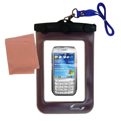 Waterproof Case compatible with the HTC Libra to use underwater