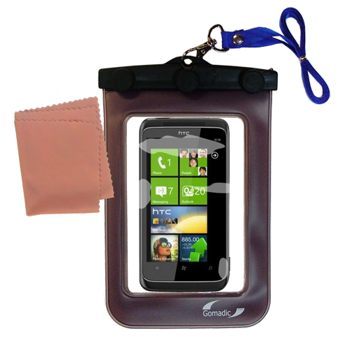 Waterproof Case compatible with the HTC Mazaa to use underwater