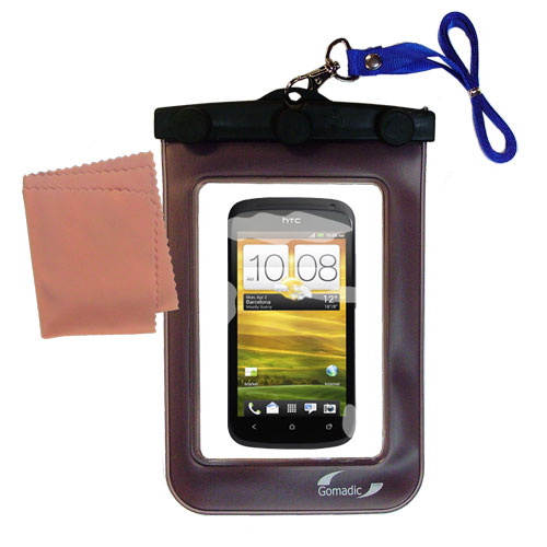 Waterproof Case compatible with the HTC One S / Ville to use underwater