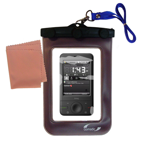 Waterproof Case compatible with the HTC P3470 to use underwater