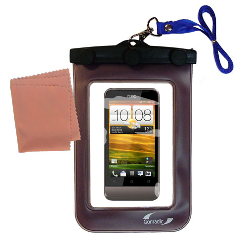 Waterproof Case compatible with the HTC Primo / T320e to use underwater