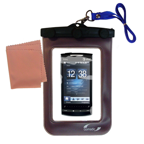 Waterproof Case compatible with the HTC Pure to use underwater