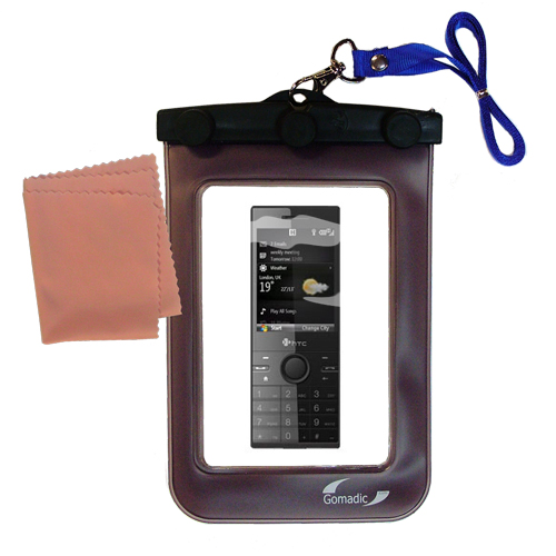 Waterproof Case compatible with the HTC S740 S730 S720 S710 to use underwater