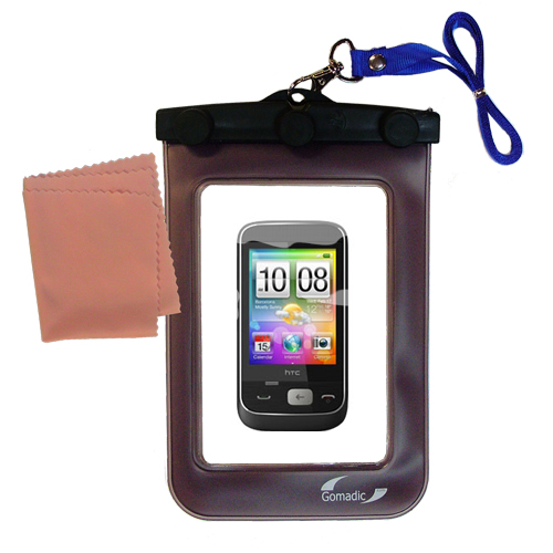 Waterproof Case compatible with the HTC Smartflip to use underwater