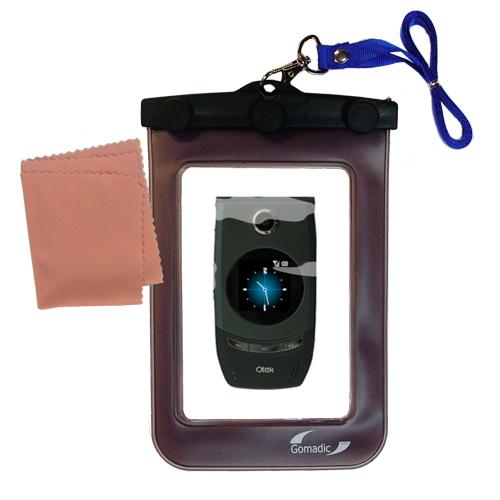 Waterproof Case compatible with the HTC StarTrek / Star Trek to use underwater