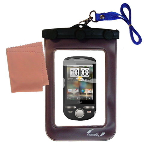 Waterproof Case compatible with the HTC Tattoo to use underwater
