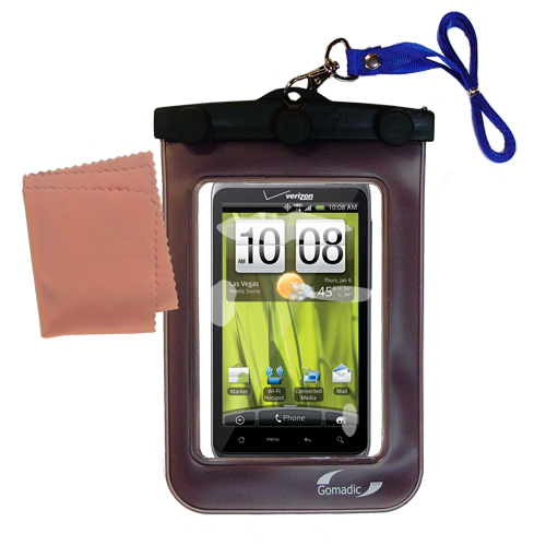 Waterproof Case compatible with the HTC Thunderbolt to use underwater