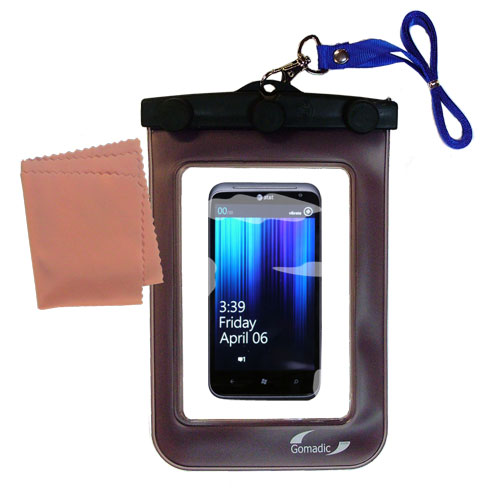 Waterproof Case compatible with the HTC Titan II to use underwater