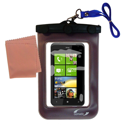 Waterproof Case compatible with the HTC Titan to use underwater
