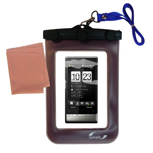 Waterproof Case compatible with the HTC Touch Diamond2 to use underwater