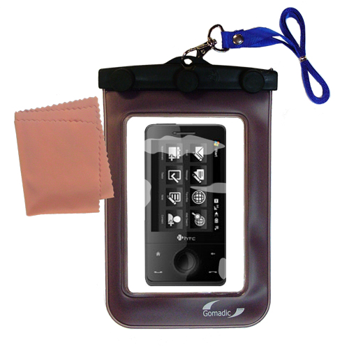 Waterproof Case compatible with the HTC Touch Pro2 to use underwater