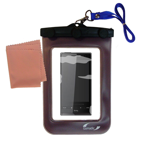 Waterproof Case compatible with the HTC Warhawk to use underwater