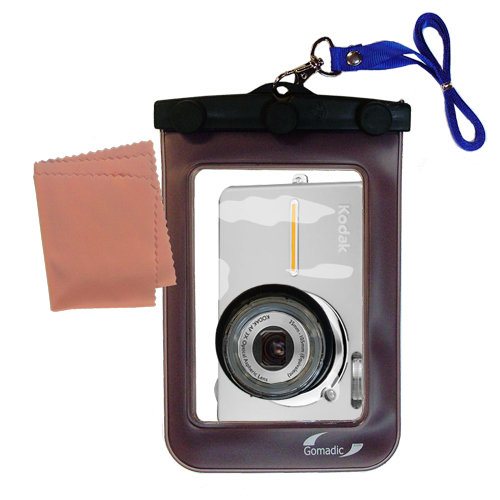 Waterproof Camera Case compatible with the Kodak Easyshare C763