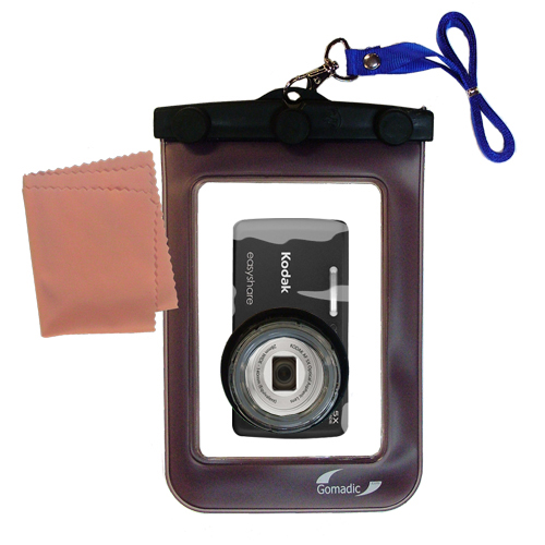 Waterproof Camera Case compatible with the Kodak EasyShare M552