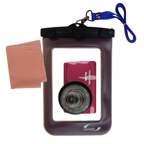 Waterproof Camera Case compatible with the Kodak M1093 IS