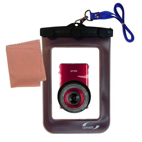 Waterproof Camera Case compatible with the Kodak Mini Video Camera