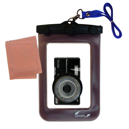 Waterproof Camera Case compatible with the Kodak V603 V610