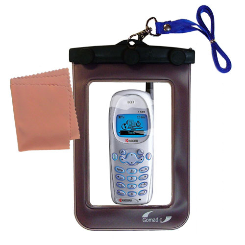 Waterproof Case compatible with the Kyocera 1135 1155 to use underwater