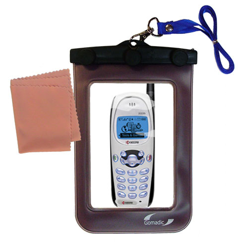 Waterproof Case compatible with the Kyocera KWC 2235 to use underwater