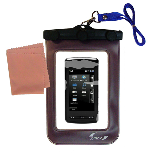 Waterproof Case compatible with the LG  KB770 to use underwater