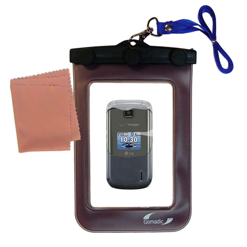 Waterproof Case compatible with the LG Accolade to use underwater