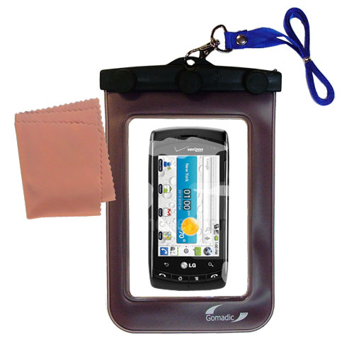 Waterproof Case compatible with the LG Ally  to use underwater